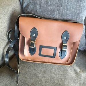 Handbags - Classic Oxford Satchel - Handmade English Leather